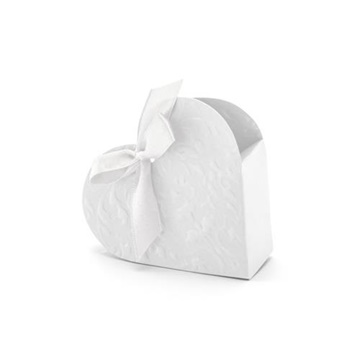 Obrázek Krabičky na drobné dárky Srdíčko ražené - 10 ks