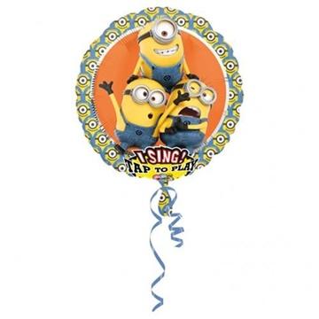 Obrázek Foliový zpívající balonek Mimoni 71 cm