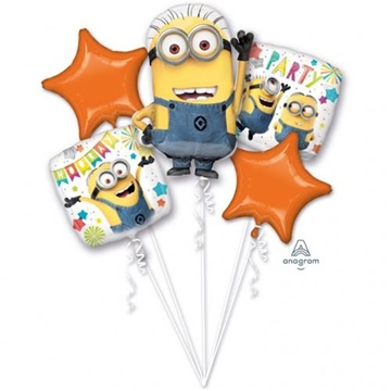 Obrázek Sada foliových balonků Mimoni - 5 ks
