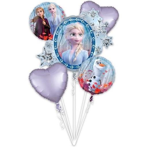 Obrázek z Sada foliových balonků Frozen 2 - 5 ks