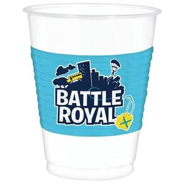 Obrázek Party plastové kelímky Battle Royal 8 ks