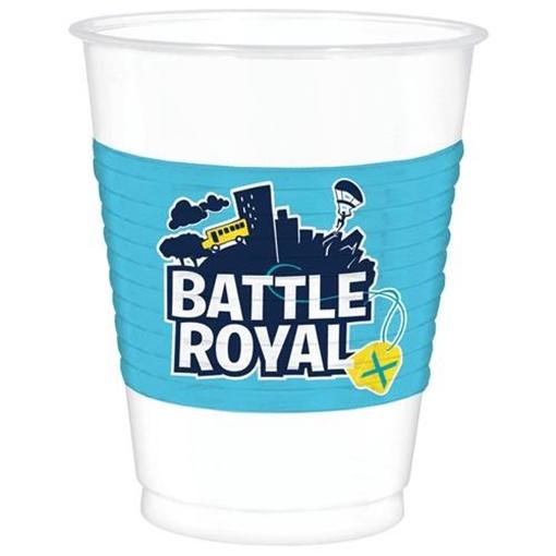 Obrázek z Party plastové kelímky Battle Royal 8 ks