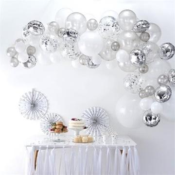Obrázek Sada na balonkovou girlandu Silver