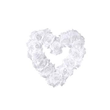 Obrázek Dekorační srdce z růží 40 cm
