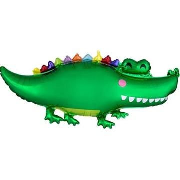 Obrázek Foliový balonek krokodýl 106 cm