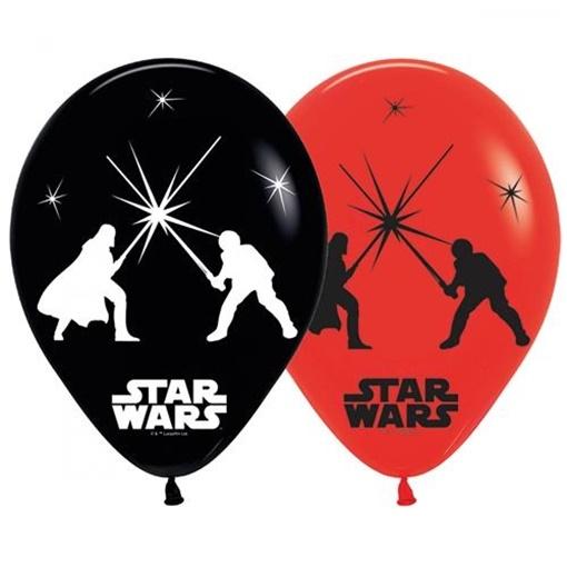 Obrázek z Svítící balonky Star Wars 28 cm