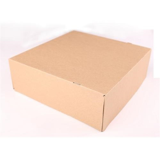 Obrázek z Dortové krabice KRAFT - 20 x 20 x10 cm - 50 ks