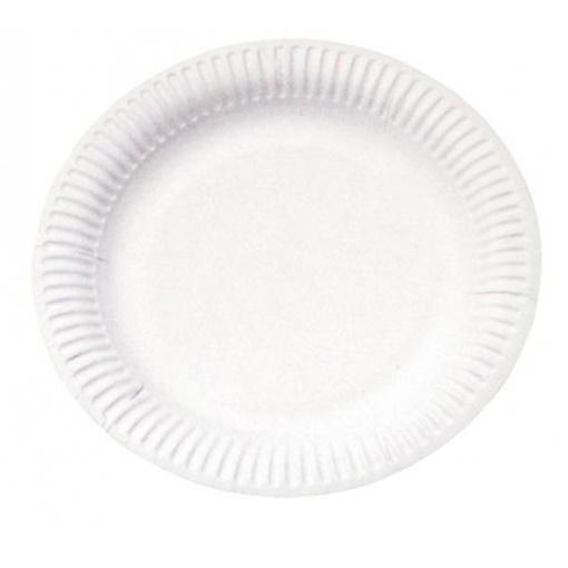 Obrázek z Papírový talířek 18 cm - 100 ks