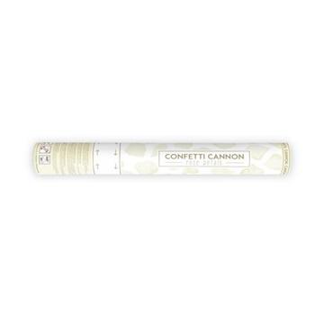Obrázek Vystřelovací konfety - krémové lísky růží 40 cm