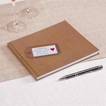 Obrázek Svatební kniha hostů - Just My Type - 32 stran