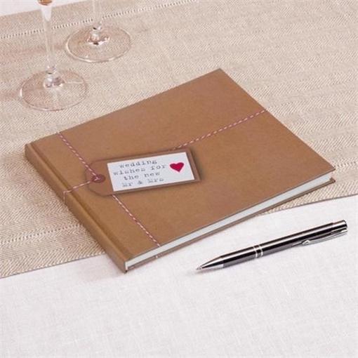 Obrázek z Svatební kniha hostů - Just My Type - 32 stran