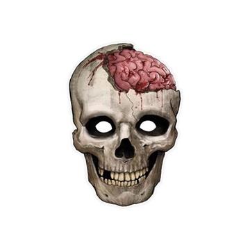 Obrázek Papírová maska kostlivec