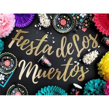 Obrázek Girlanda Halloween - Fiesta de Los Muertos - 160 cm