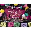 Obrázek z Papírové party krabičky Dia de los Muertos - 6 ks