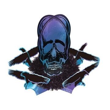 Obrázek Halloweenská dekorace na stůl Goblet Skeleton