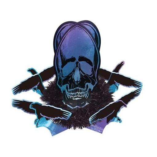 Obrázek z Halloweenská dekorace na stůl Goblet Skeleton