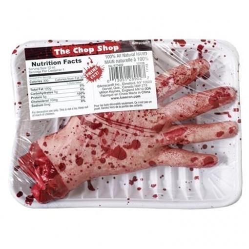 Obrázek z Halloweenská dekorace - zabalená krvavá ruka