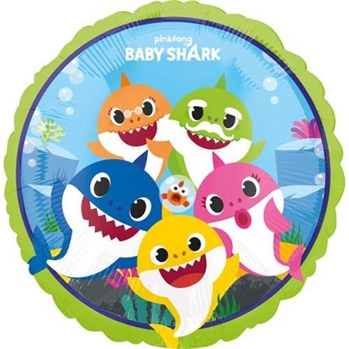 Obrázek z Foliový balonek Baby Shark 45 cm