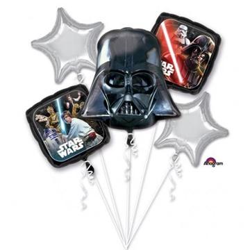 Obrázek Sada foliových balonků Star Wars - 5 ks