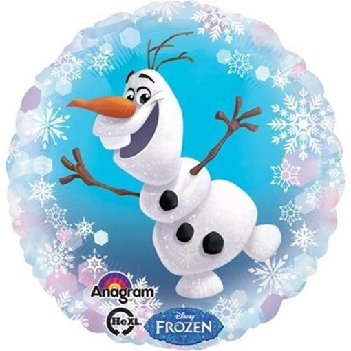 Obrázek z Foliový balonek Frozen - Olaf 43 cm