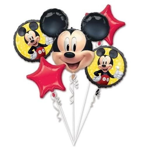 Obrázek z Sada foliových balonků Mickey Mouse - 5 ks