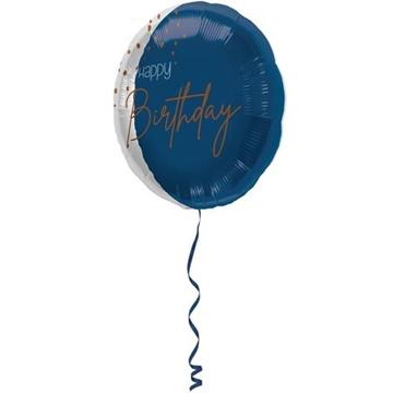 Obrázek Foliový balonek Elegant True Blue 45 cm