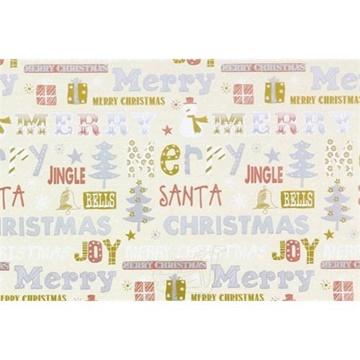 Obrázek Balící papír Vánoční - Jingle bells 10 m