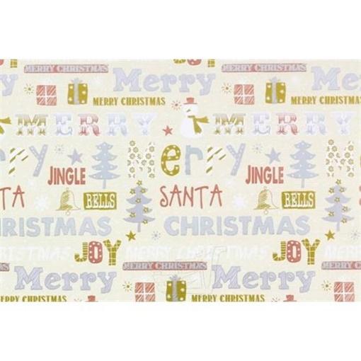 Obrázek z Balící papír Vánoční - Jingle bells 10 m