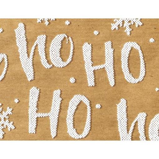 Obrázek z Balící papír Ho Ho KRAFT - 1m x 70cm