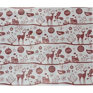Obrázek Balící papír Vánoční - Joy - jeleni 2 m