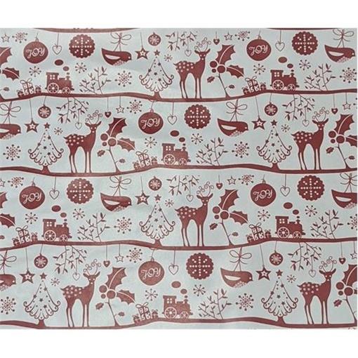 Obrázek z Balící papír Vánoční - Joy - jeleni 2 m