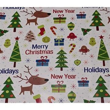 Obrázek Balící papír Vánoční - holiday 2 m