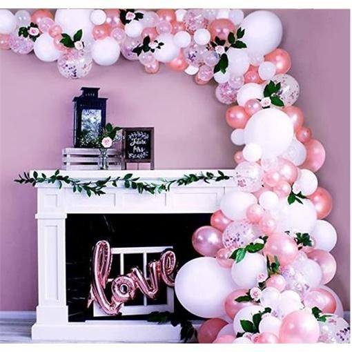 Obrázek z Sada na balonkovou girlandu Rosegold