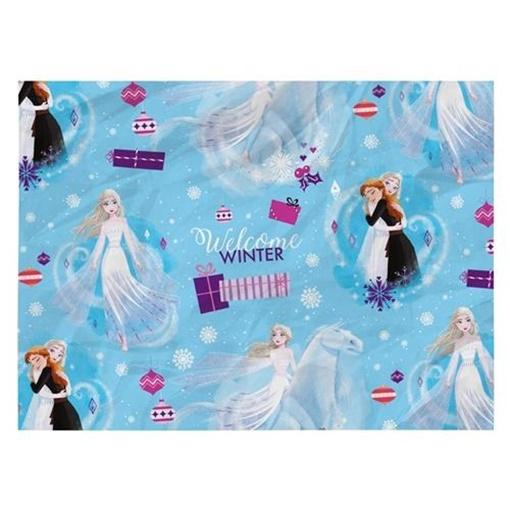 Obrázek z Balící papír Disney Frozen Welcome Winter - 100 x 70 cm - 2 ks