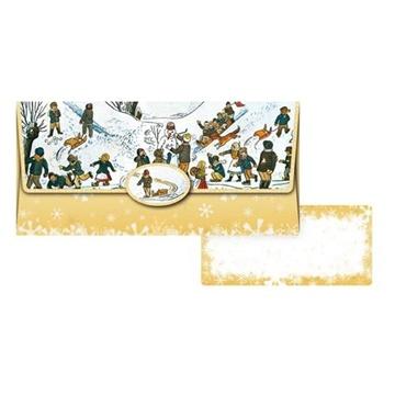 Obrázek Obálka na peníze Ladovská zima