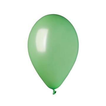 Obrázek Metalické balonky 28 cm - mint 100 ks
