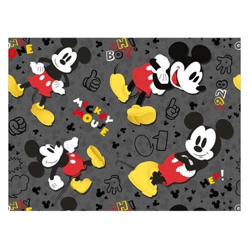 Obrázek z Balící papír Mickey Mouse - černý 70 x 200 cm