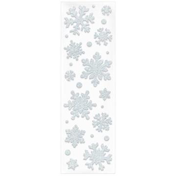 Obrázek Dekorace na okno gelová - Vločky - 4-9 cm