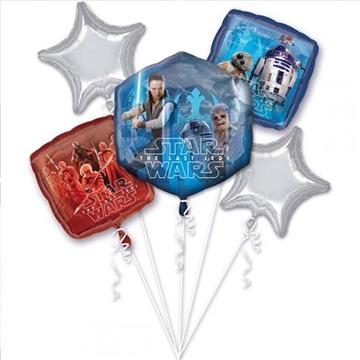 Obrázek Sada foliových balonků Star Wars The Last Jedi - 5 ks