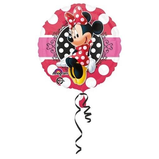 Obrázek z Foliový balonek Minnie Portrait 43 cm