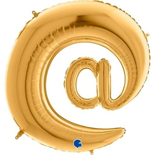 Obrázek z Foliový symbol Zavináč zlatý 102 cm