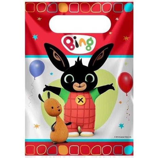 Obrázek z Party tašky kralíček Bing 8 ks