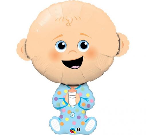 Obrázek z Foliový balonek chlapeček  96 cm