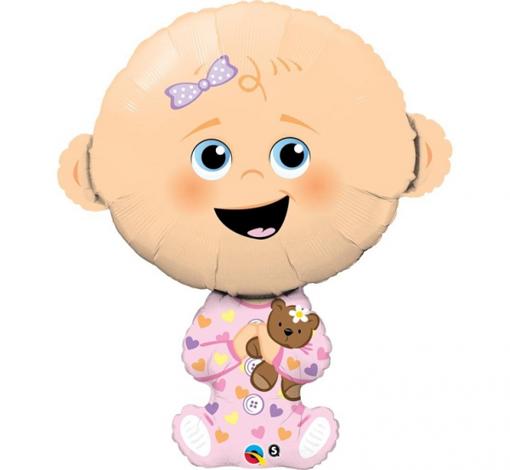 Obrázek z Foliový balonek holčička 96 cm