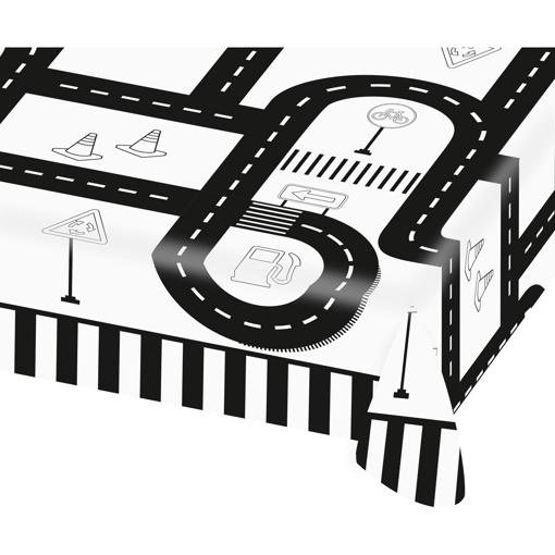 Obrázok z Papierový party obrus Dopravné 120 x 180 cm
