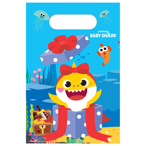 Obrázok z Party tašky Baby Shark 8 ks