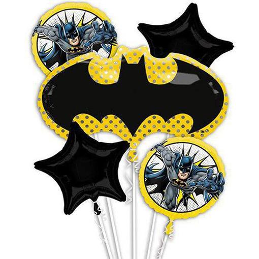 Obrázek z Sada foliových balonků Batman Justice League - 5 ks