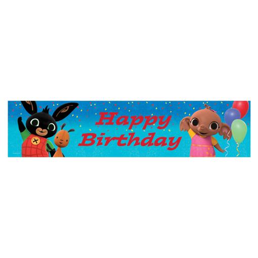 Obrázok z Narodeninový plagát Králíček Bing - 270 x 20 cm